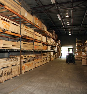 Warehouse with Fork Lift